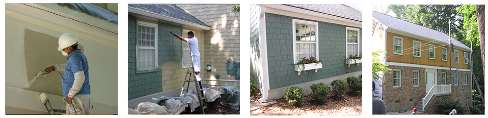 Painting HardiePlank | First Rate Siding And Window Experts